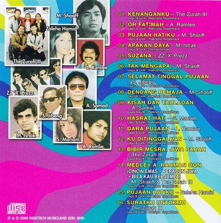 Pujaan Lagu-lagu pop Yeh Yeh 60an