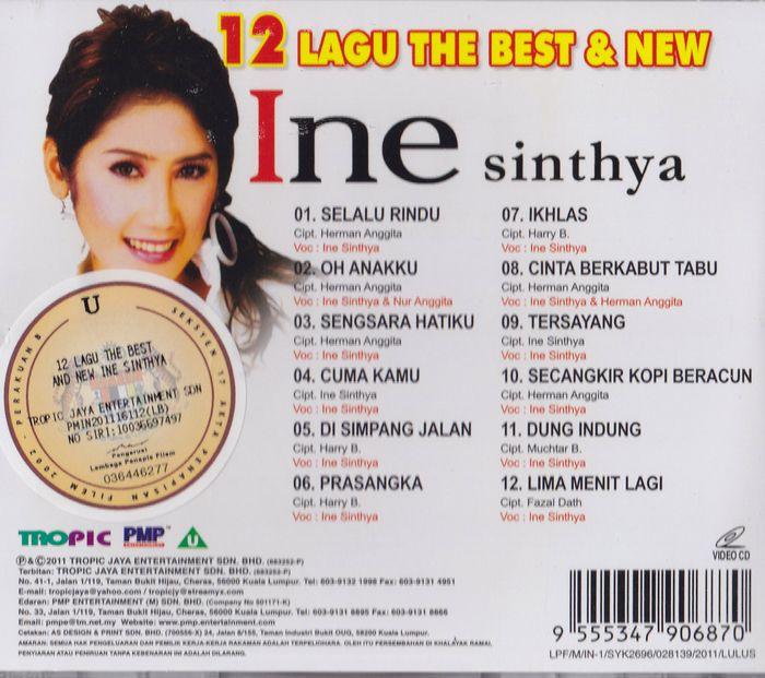 12 Lagu the Best & New Ine Sinthya