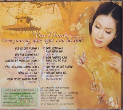 Dem Phuong Nam Nghe Cau Ho Hue