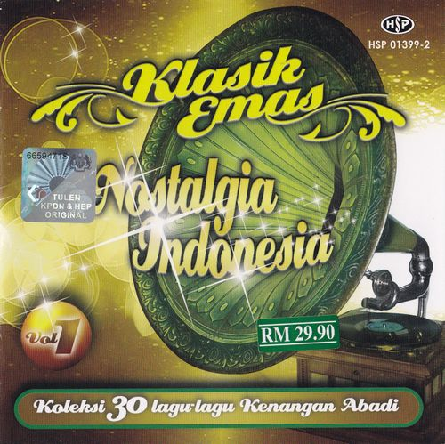 Klasik Emas Nostalgia Indonesia (2枚組)