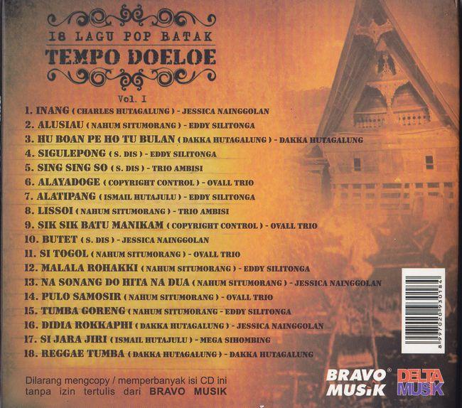 18 Lagu Pop Batak Tempo Doeloe