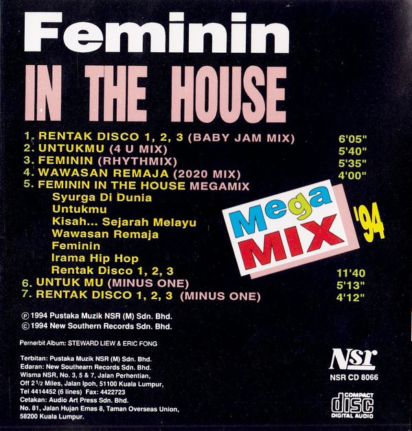 Feminin in the House -Mega Mix-