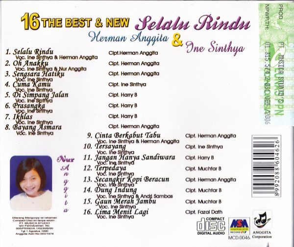 16 The Best & New Selalu Rindu