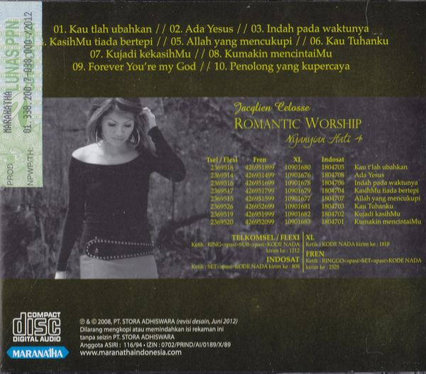 Nyanyian Hati 4 Romantic Worship