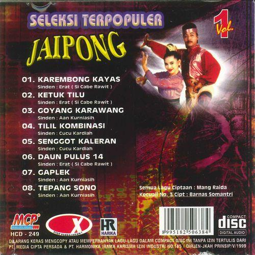 Seleksi Terpopuler Jaipong Vol.1